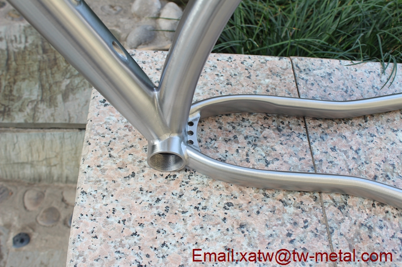 titanium mountain bike frame thru axle 142X12mm