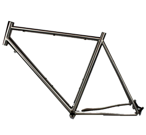 cheap and durable titanium MTB bike frame with 27.5 inch wheel