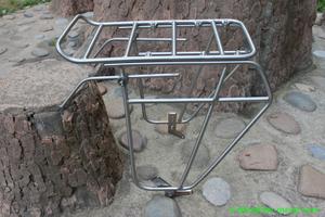 factory made strong titanium bike rear rack