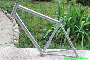 Custom XACD made titanium perfect bike frame for MTB cycle