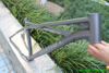 factory directly offer titanium cruiser bike frame with double top tube